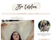 Free Carolina Blogger Template