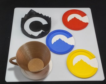 Colorado Coaster Set