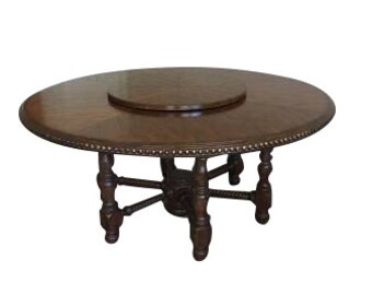 Rustic Round Dining Room Table/Entry Table/Foyer Table
