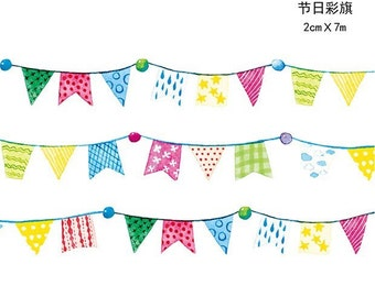Holiday banners Washi Tapes