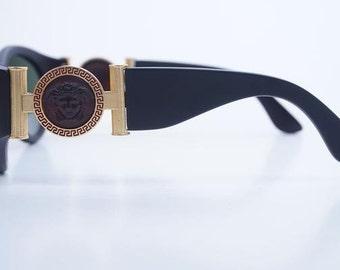 Vintage Gianni Versace 617\B Sunglasses - Rare - Black - 100% Mint condition!