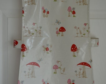 Childs oilcloth tabard/cover up/apron
