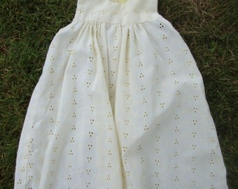 Vintage Toddler's Eyelet Dress