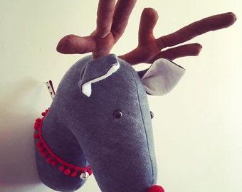 Taxidermy Reindeer Etsy