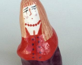 Penelope - ceramic woman