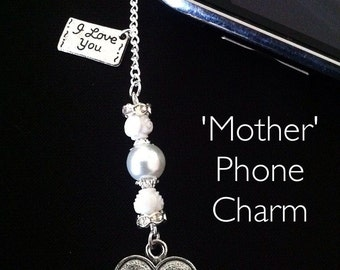 Mother Phone Charm
