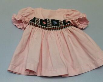 xx small pale pink dress