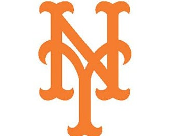 New York METS decal  free shipping