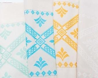 "Sardinian curtain ""Lily"""