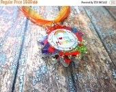 SALE 60% OFF Necklace 'I Love My Mommies' Rainbow Pendant