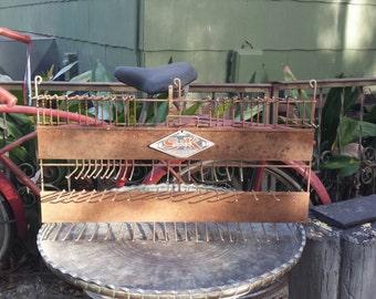 Vintage tool display rack