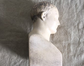 Napoleon Bonaparte bust in pottery
