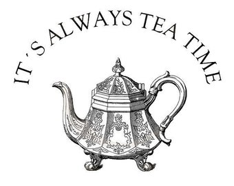 Tea time - Temporary tattoo