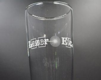 Custom Engraved Pilsner Glass (14.5oz)