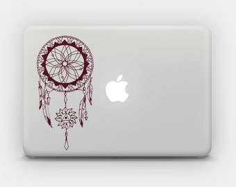 Transparent Sticker Decal for MacBook or Laptop - Dreamcatcher 3