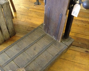 French Vintage Platform Scales
