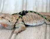 REPTILE LEASH ADJUSTABLE Leash harness - Adjustable to fit any size Leash come in 3ft and 6ft Lengths