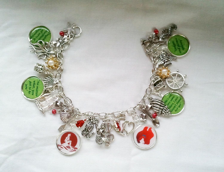 the mermaid charm bracelet charm by specialgiftsonline