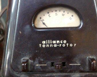 Alliance Tenna Rotor with Bakelite case 1953 Antenna Rotor control Tenna-Rotor DIR 3