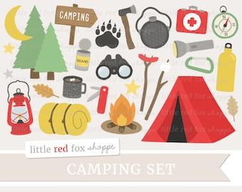 Tent Clip Art Etsy - Camping clip art