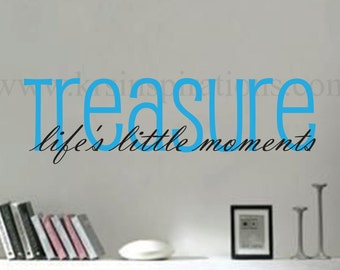 Life's Moments wall decal