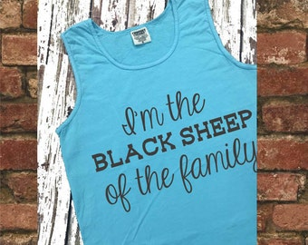 I'm the black sheep of the family tank