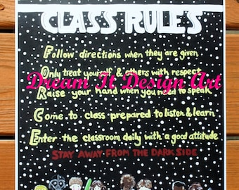 Star Wars Class Rules