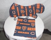 These Ex-Long Oven Mitt / Pot Holder sets make beautiful kitchen accessories.  Green Bay Packer, Chicago Bear and Wisconsin Badger designs.