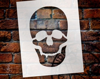 Simple Skull - Art Stencil - Select Size - STCL1269 by StudioR12