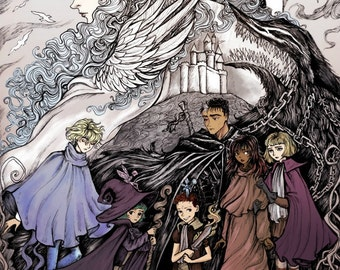 And the World Began to Change - Berserk Print