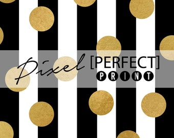 """5ft x 5ft """"New Years Gold"""" Vinyl Backdrop // New Years Backdrop // 2015 New Year's Party // Black Gold Backdrop // Kate Spade (PP581)"""