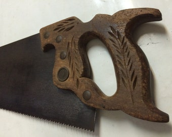 Vintage Disston D 23 Rip Saw 7 TPI needs cleaning
