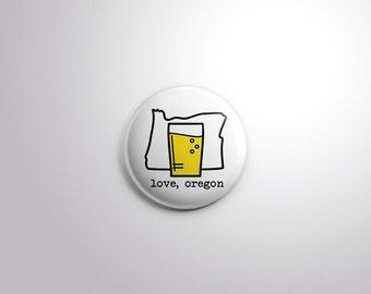 Love, Oregon | Button Series