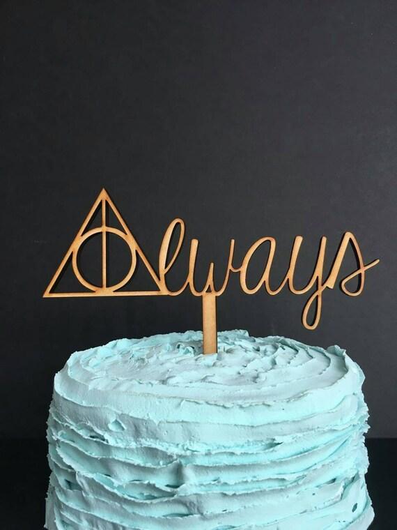 Harry Potter Cake Topper Harry Potter Wedding Cake Topper