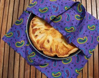 pie bag, food bag, pastry bag, cake bag, picnic bag, picnic,