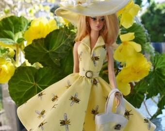 Silkstone Barbie Fashion - Bee Cause (approx 65 USD)