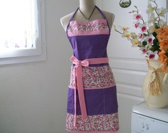 Retro style with three large apron front pockets