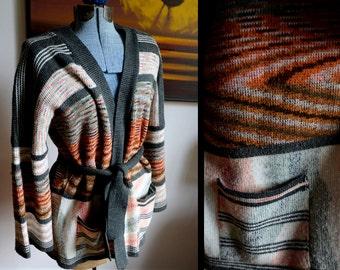 Cool Seventies Wrap Around Sweater by Kimlon