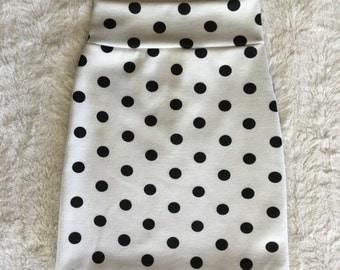 Baby-Girls Knit Pencil Skirt Polka Dot