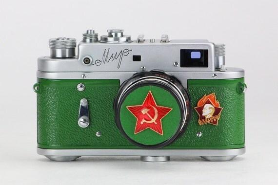 Guerre froide rare 1959 urss mir russe leica 35mm appareil - Pret d union pieces justificatives ...