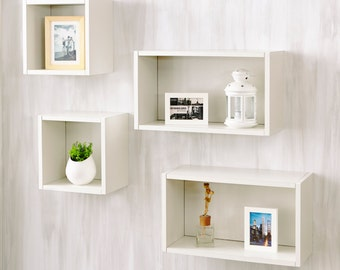 Eco Friendly Wall Cube and Decorative Shelf by Way Basics
