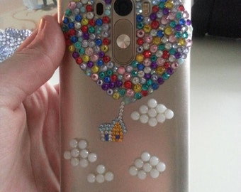 Customized Disney Up Inspired Phone Case, Available For Any Phone, Iphone, Samsung, HTC etc