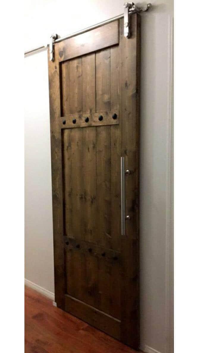 Interior Barn Door Sliding Wooden Door Barn Door With
