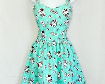 Doctor Hello Kitty dress