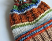 NEW - Stash Buster Slouchy Hat -  Knitting Pattern - 3 sizes - Pdf - Instant Download