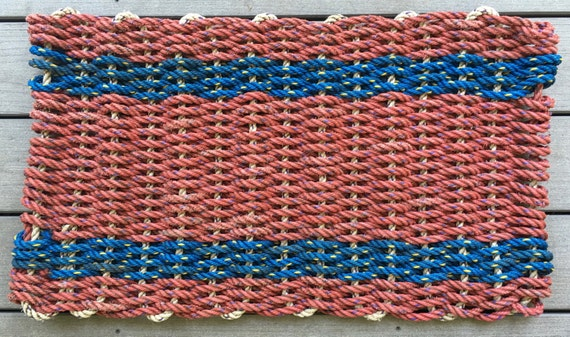 Recycled Lobster Rope Doormat The Damariscotta