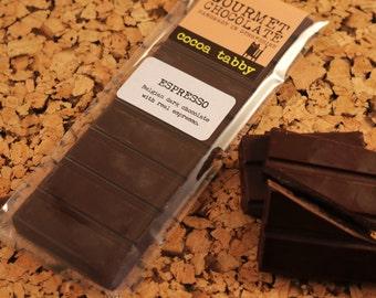 Espresso - Dark Chocolate Bar