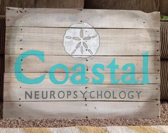 20 x 24 Custom Reclaimed Wood Sign