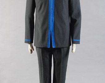 Kuroko's Basketball School Uniform Cosplay Costume