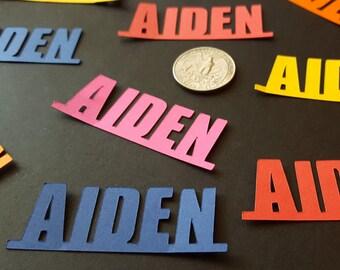 Name Confetti - Confetti - Personalized Confetti - Custom Birthday Decoration - Party Decor - Table Top Decoration - Party Confetti
